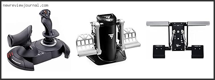 Top Best Thrustmaster Tfrp Flight Rudder Pedals Review Based On Scores