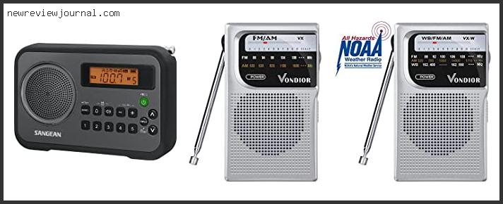 Top 10 Portable Radios With Best Reception Reviews With Scores